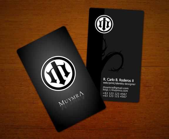 Great Business Card Designs 01 25 Great Business Card Designs