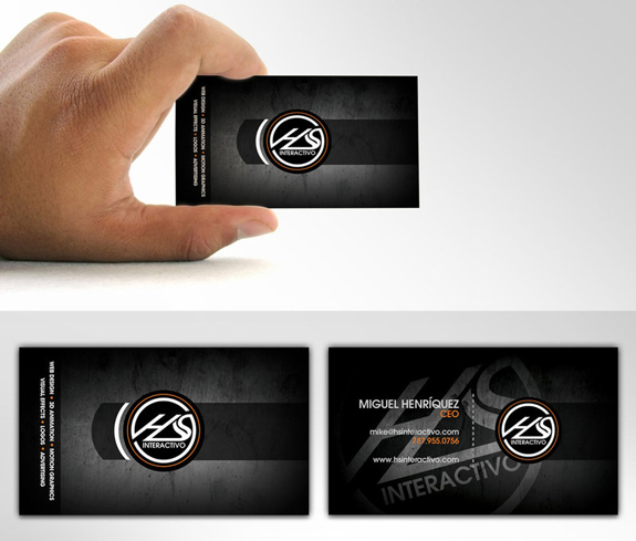 HS Interactivo Business Card