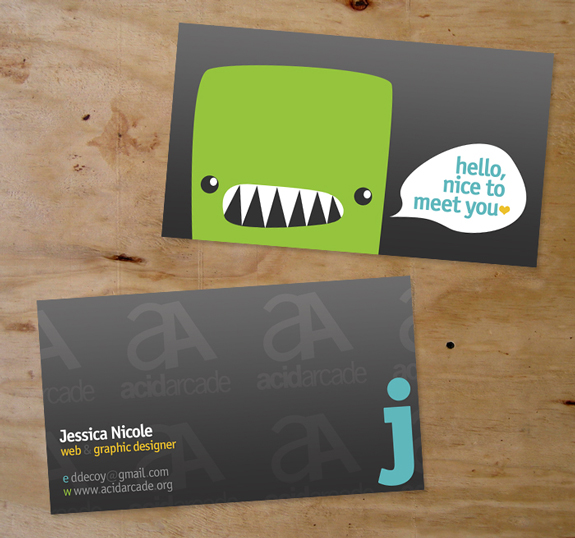 Great Business Card Designs 03 25 Great Business Card Designs