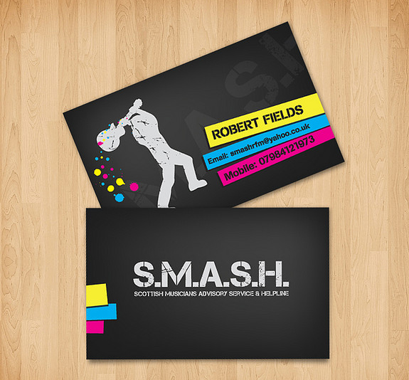 Smash Business Card