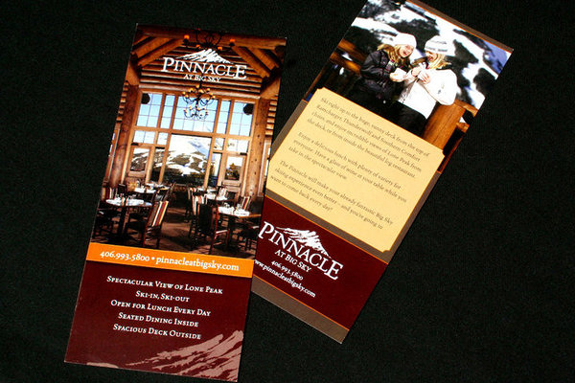 Restaurant Rack Card