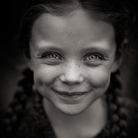 Black And White Photo Portrait