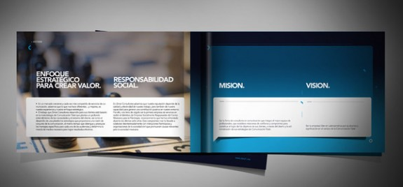 Pure Corporate Brochure Design