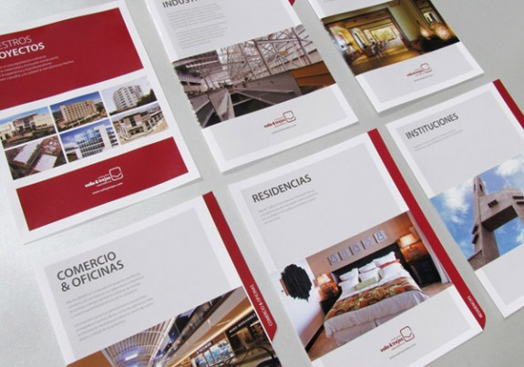 Red Brochure Design