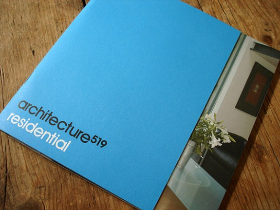 Blue Brochure Design