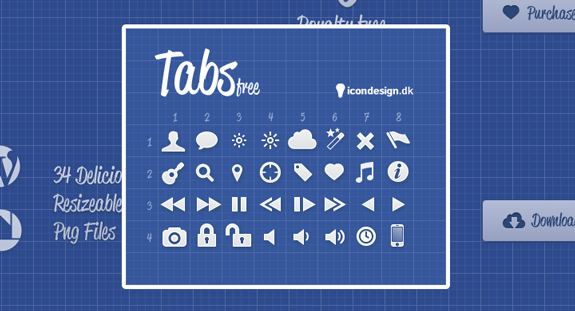 Tabs Free Icons