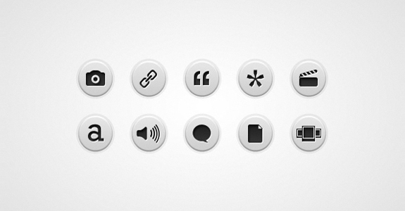 Post Format Icons