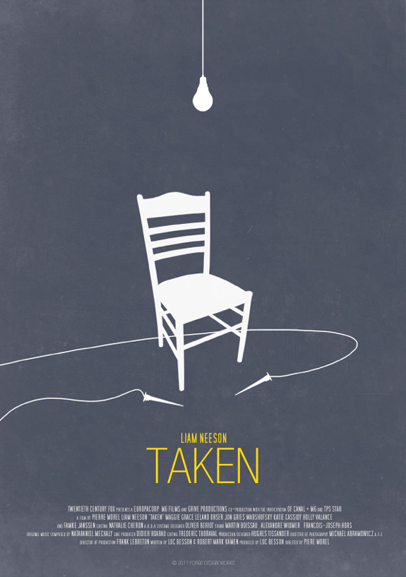 25 Beautiful and Amazing Minimalist Movie Posters : Browse ...