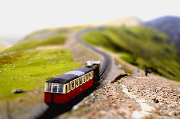 Amazing Photo of Tilt Shift Photography