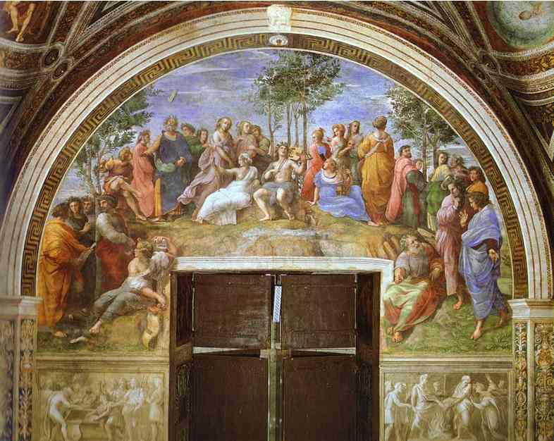 raphael famous paintings