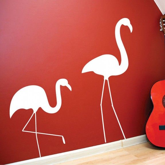 wall sticker art 03 575x575 Inspiring Wall Sticker Art