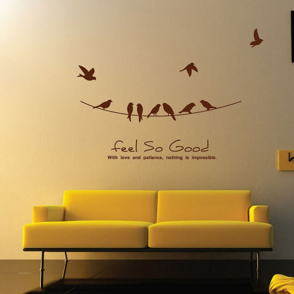 wall sticker art 04 575x575 Inspiring Wall Sticker Art
