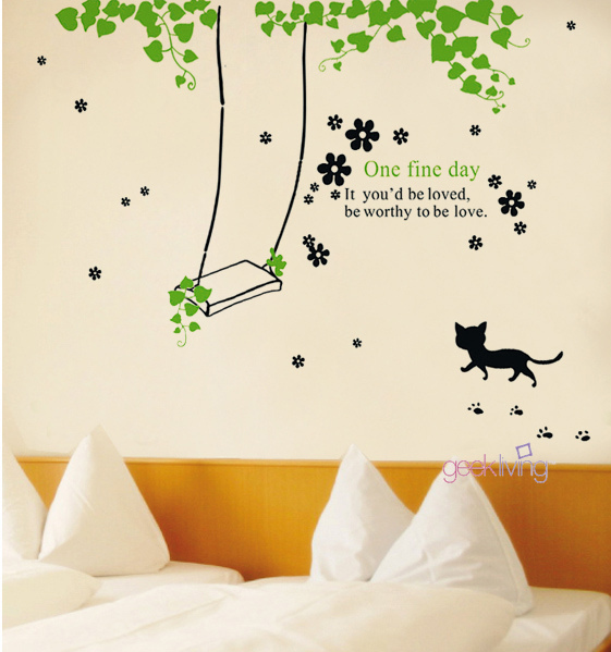 wall sticker art 06 Inspiring Wall Sticker Art