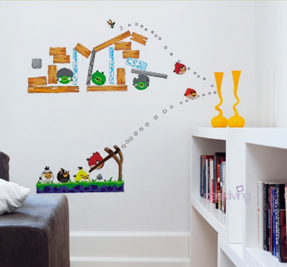 wall sticker art 07 575x534 Inspiring Wall Sticker Art
