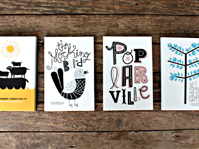 postcard design inspiration - Postcard Design Ideas