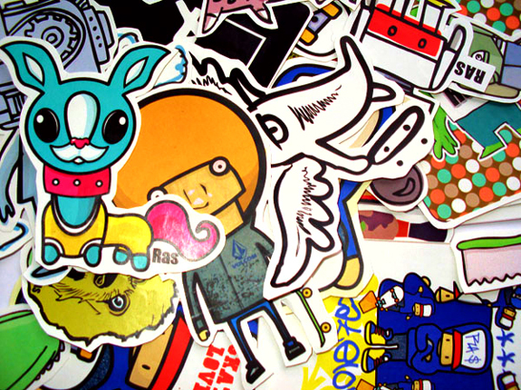 cool sticker design 10 Cool Sticker Design Inspiration