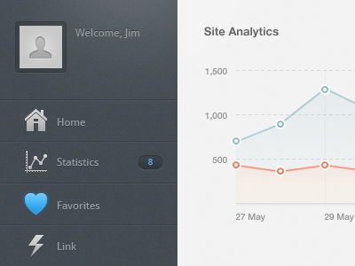 dashboard designer 08 40 Beautiful Dashboard Design From Dribbble