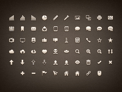free icon set 05 15 New Free Icon Sets From Dribbble