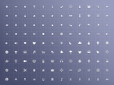 free icon set 09 15 New Free Icon Sets From Dribbble