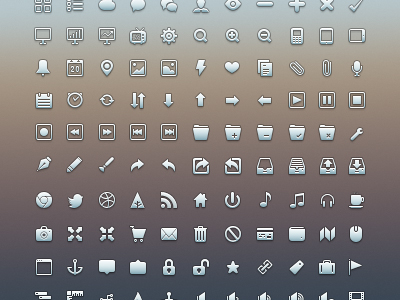 free icon set 13 15 New Free Icon Sets From Dribbble
