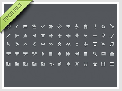 free icon set 17 15 New Free Icon Sets From Dribbble