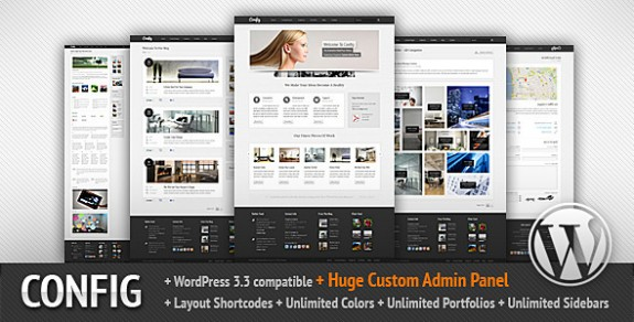 corporate wordpress themes 07 575x292 50+ Free and Premium Corporate WordPress Themes