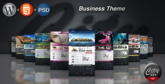 corporate wordpress themes 09 575x292 50+ Free and Premium Corporate WordPress Themes