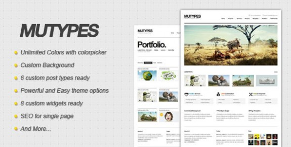 corporate wordpress themes 10 575x292 50+ Free and Premium Corporate WordPress Themes