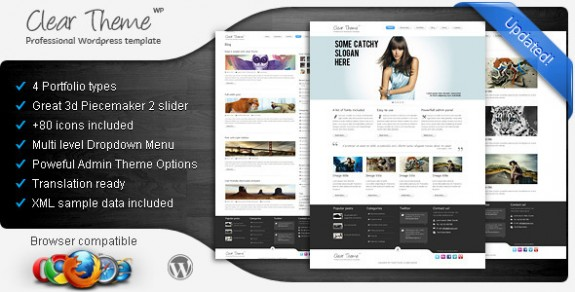 corporate wordpress themes 12 575x292 50+ Free and Premium Corporate WordPress Themes