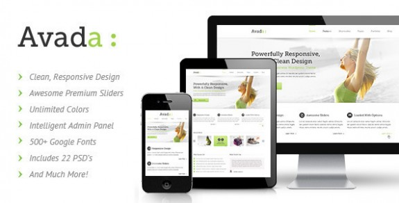 corporate wordpress themes 25 575x292 50+ Free and Premium Corporate WordPress Themes