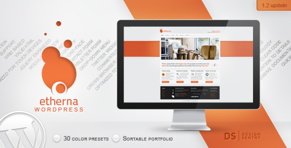 corporate wordpress themes 31 575x292 50+ Free and Premium Corporate WordPress Themes