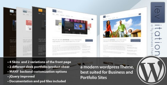 corporate wordpress themes 35 575x292 50+ Free and Premium Corporate WordPress Themes