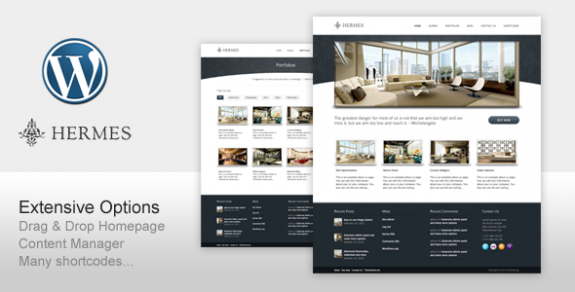 corporate wordpress themes 41 575x292 50+ Free and Premium Corporate WordPress Themes