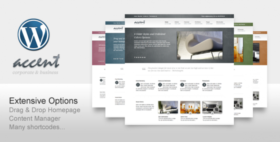 corporate wordpress themes 43 575x292 50+ Free and Premium Corporate WordPress Themes