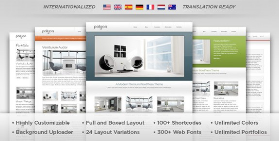 corporate wordpress themes 44 575x292 50+ Free and Premium Corporate WordPress Themes
