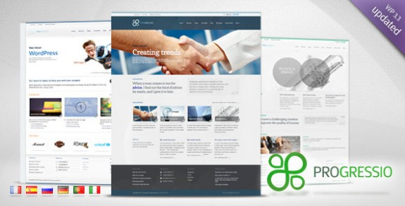 corporate wordpress themes 50 575x292 50+ Free and Premium Corporate WordPress Themes
