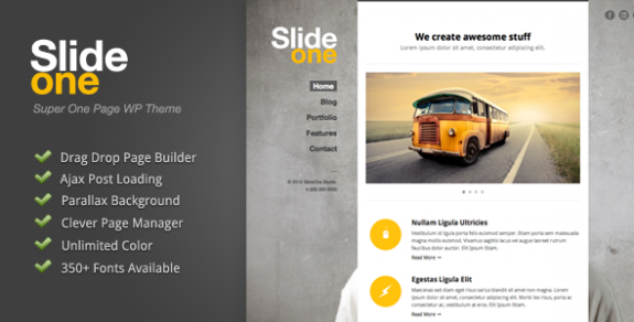 corporate wordpress themes 51 575x292 50+ Free and Premium Corporate WordPress Themes