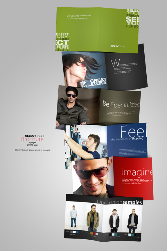 Dark Brochure Designs