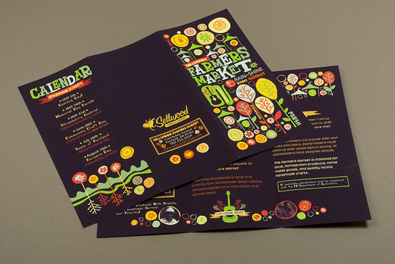 dark brochure designs 04 20 Elegant Examples of Dark Brochure Designs