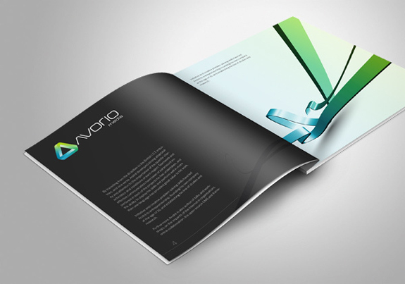 dark brochure designs 20 20 Elegant Examples of Dark Brochure Designs