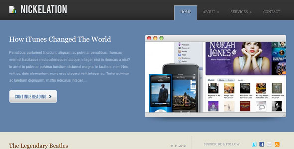 free corporate wordpress themes 07 50+ Free and Premium Corporate WordPress Themes